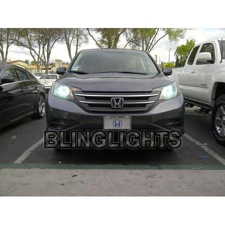 Honda CR-V Bright White Head Lamp 4750K Light Bulbs (Honda Crv Engine Light)