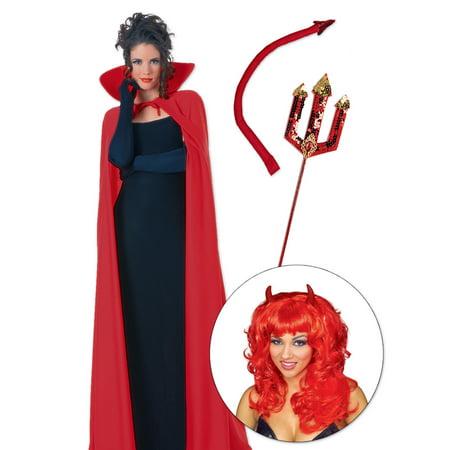 Hocus Pocus Hot Devil Costume - Size One Size
