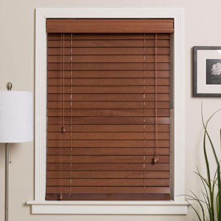 Arlo Blinds  Customized 65 Inch Real Wood Window Blinds