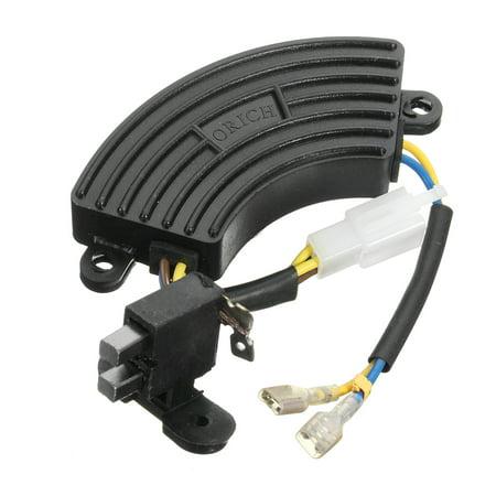 2KW-3KW Generator Voltage Regulator AVR Automatic Gasoline Rectifier Single Phase with generatorregulator Carbon Brush