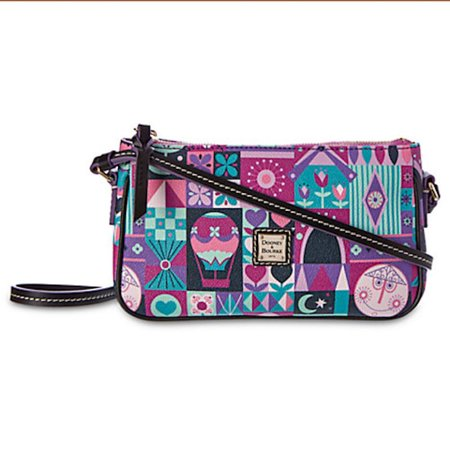 Disney It's A Small World Crossbody Pouchette by Dooney & Bourke New Dooney & Bourke Denim