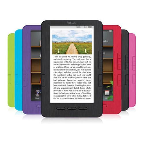 "Refurbished Ematic 7"" TFT LCD Color eBook Reader with Kobo, MP3, & Video Player -EB105 - BLK"