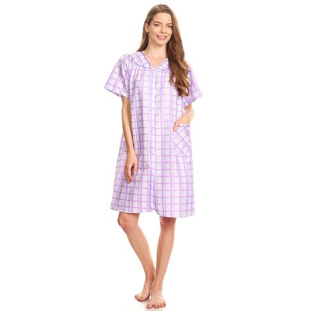 Lati Fashion - 12017 Womens Nightgown Sleepwear Pajamas - Woman Sleeveless  Sleep Dress Nightshirt Purple L - Walmart.com d9ce058db3
