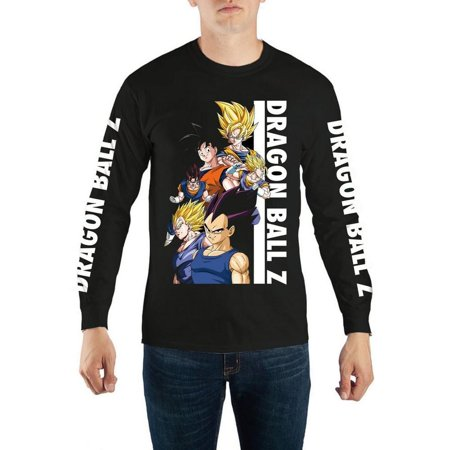 Dragon Ball Z Group Long Sleeve Men's Shirt |