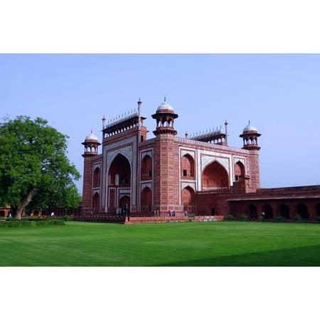 LAMINATED POSTER Taj Mahal Darwaza-i-rauza India Agra The Great Gate Poster Print 24 x 36](great deals online india)