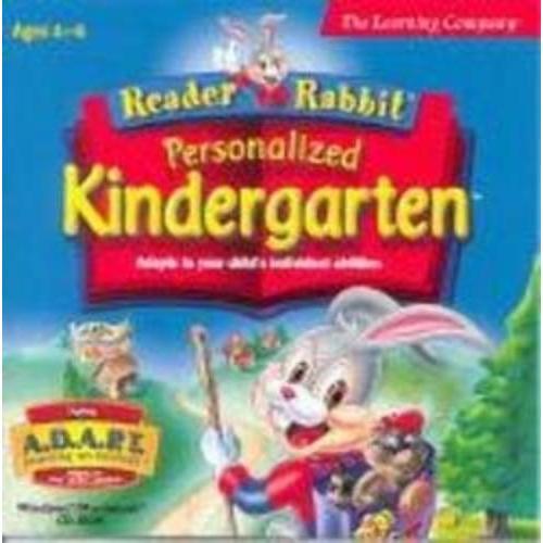 Learning Company Reader Rabbit Per Kindergard Dlx 2cd Jc [windows 98/xp]