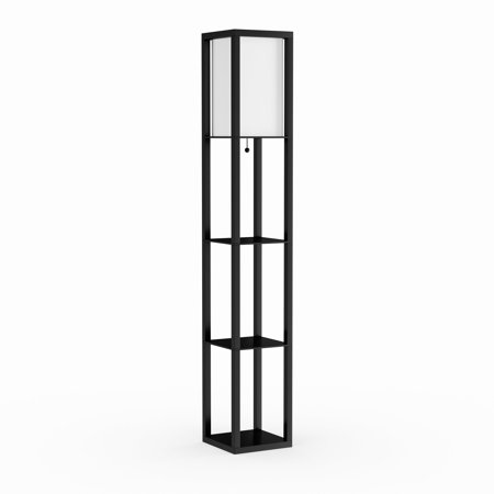 porch den delano douglas floor lamp etagere organizer storage shelf. Black Bedroom Furniture Sets. Home Design Ideas