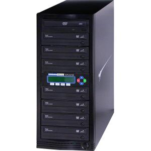 DVD DUPLICATOR 1-7 24X LIGHTNING FAST COPIES OF DVDS & CDS