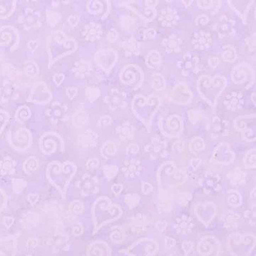 4 Walls Whimisical Tonal Hearts 20.5' x 33'' Wallpaper