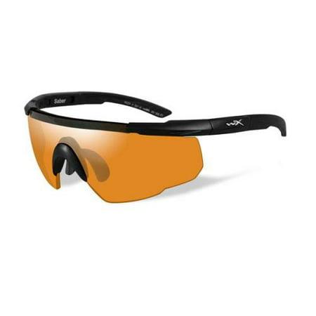 WILEY X Sunglasses SABER ADVANCED Matte Black (Wiley X Saber Advanced Sunglasses)