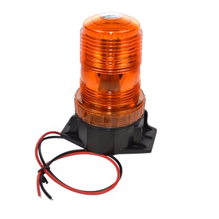 HQRP 30-LED Amber Mini Beacon Emergency Strobe Light for Cushion Forklift Toyota 7FGCU70 / 8FGCSU20 / 8FGCU15 / 8FGCU18 / 8FGCU20 / 8FGCU25 / 8FGCU30 / 8FGCU32 plus HQRP - Mitsubishi Forklift Parts