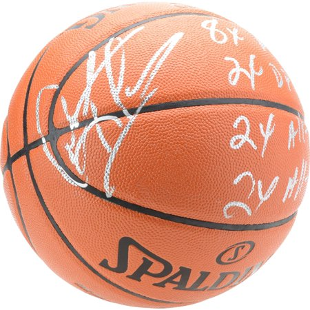 Dennis Rodman Chicago Bulls Autographed Spalding Indoor/Outdoor Basketball with Multiple Inscriptions - Limited Edition of 9 - Fanatics Authentic Certified