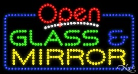 High Impact, Energy Efficient Open LED Sign