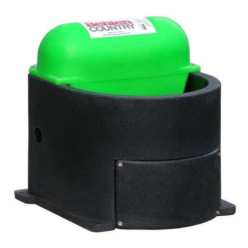 Behlen Country Horse & Companion Heated Waterer Black / G...