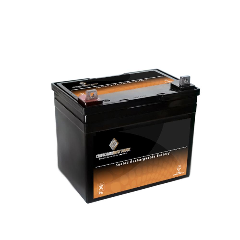 Husqvarna YTH2448 Lawn Tractor Battery 12v 35ah Deep Cycle U1 by Chrome Battery
