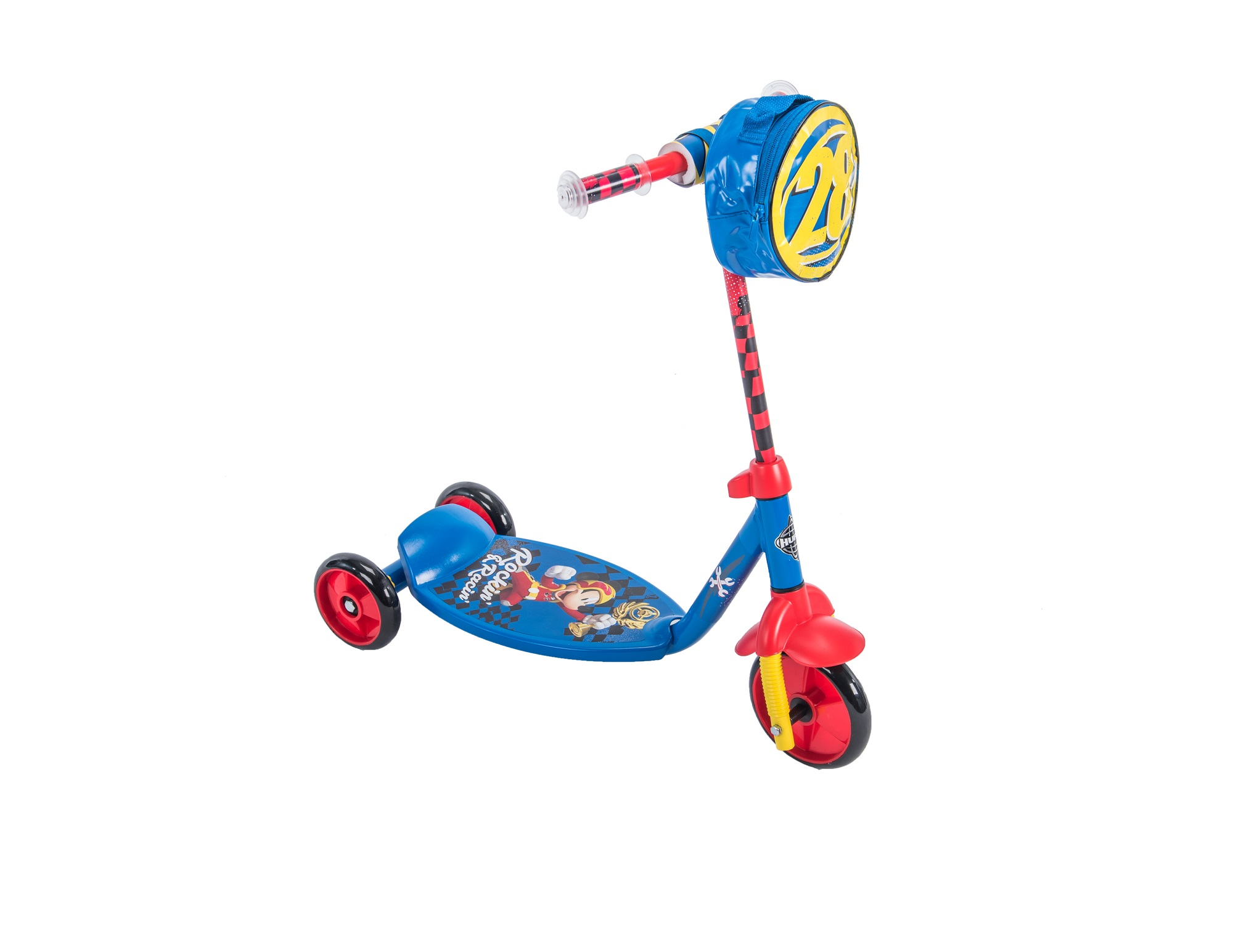 Disney Mickey Mouse 3-Wheel Preschool Scooter, by Huffy by Huffy Bicycle Co