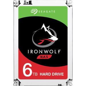 6TB IRONWOLF SATA 7200 RPM 128MB 3.5IN