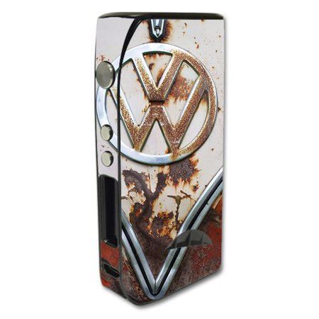 Skin Decal For Pioneer 4 You Ipv5 200W Vape Mod / Vw Bus Rust, Split Window Van