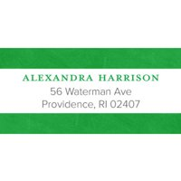 Bonjour Personalized Address Label