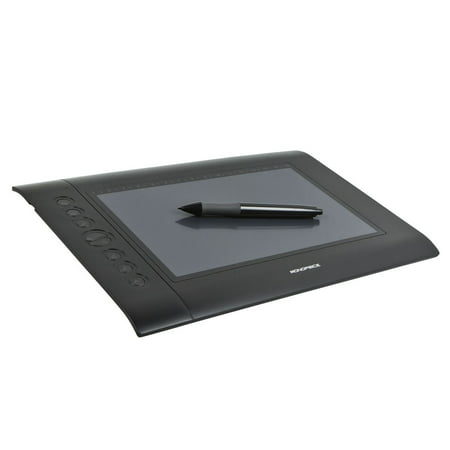Monoprice 10 x 6.25-inch Graphic Drawing Tablet (4000 LPI, 200 RPS, 2048 Levels) (Tablet Drawing)