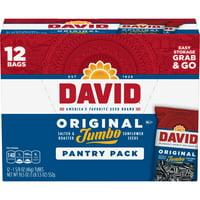 David Sunflower Seeds Original Jumbo Pantry Pack 12 Ct