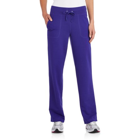 294a2c6f63 Danskin Now - Women's Active French Terry Pant available in regular and  Petite - Walmart.com