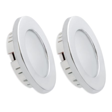 dream lighting 3 5w shiny led recessed ceiling down light 12v rv