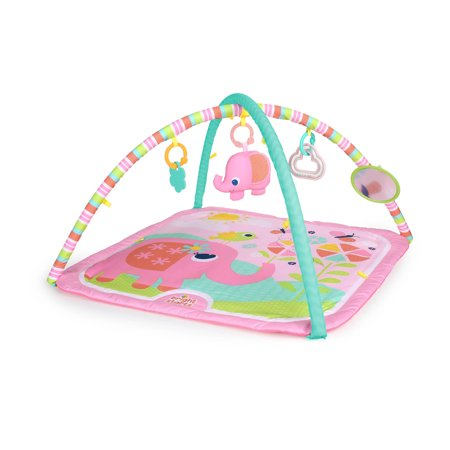 Bright Starts Fanciful Flowers Activity Gym and Play Mat