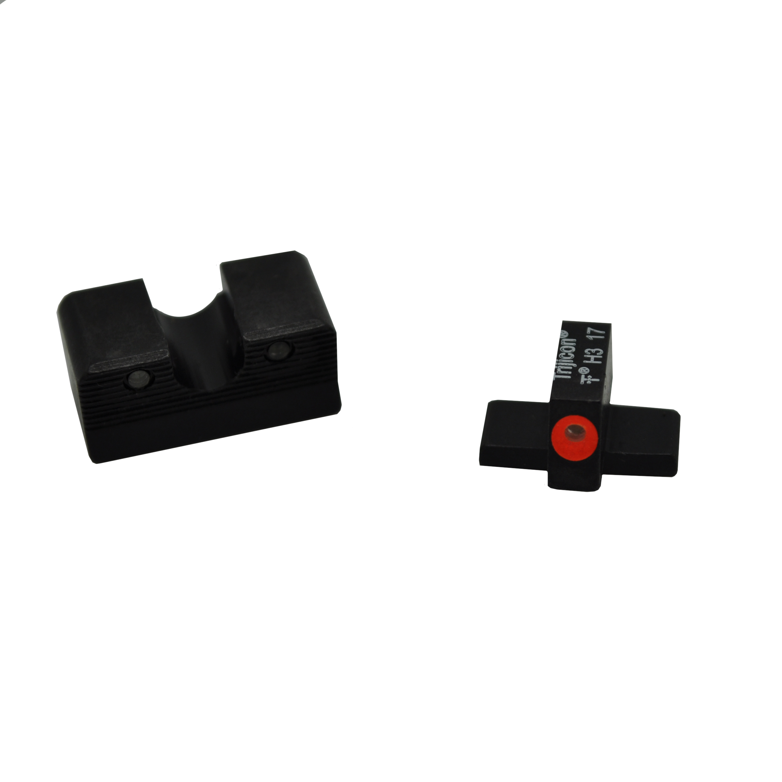 Click here to buy Trijicon HD XR Night Sight Set Sig Sauer Calibrated for 9mm and .357 Sig, Orange Front Outline Lamp by Trijicon.