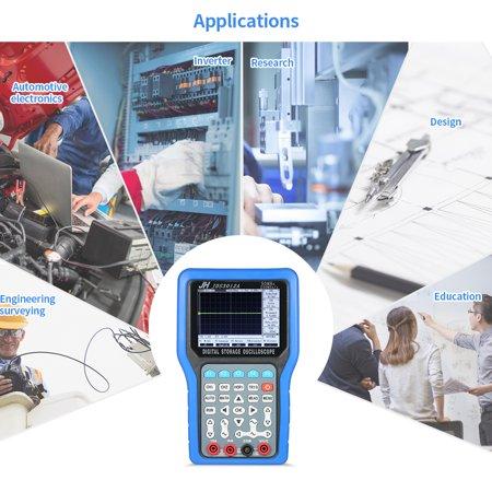 Multi-functional Handheld Digital Storage Oscilloscope 2 Channels Scope Meter 30MHz 250MSa/s Multimeter with Signal - Trigger Signal Oscilloscope