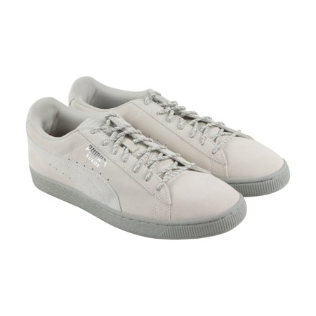 3a9f69308f9686 PUMA - Puma Suede Classic Weatherproof Men s Shoes Birch- Rock Ridge  363871-02 - Walmart.com
