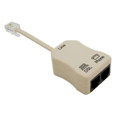 SUTTLE 1 SE-900LCCS-50M In-line DSL Filter w/ Splitter (Dsl Splitter Filter)