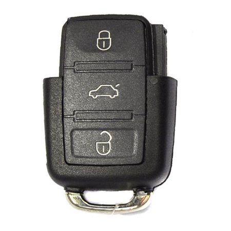 New Replacement for VW Remote Flip Key Keyless Entry 4B Part # 1K0 959 753-H FCC# NBG92596263 ()