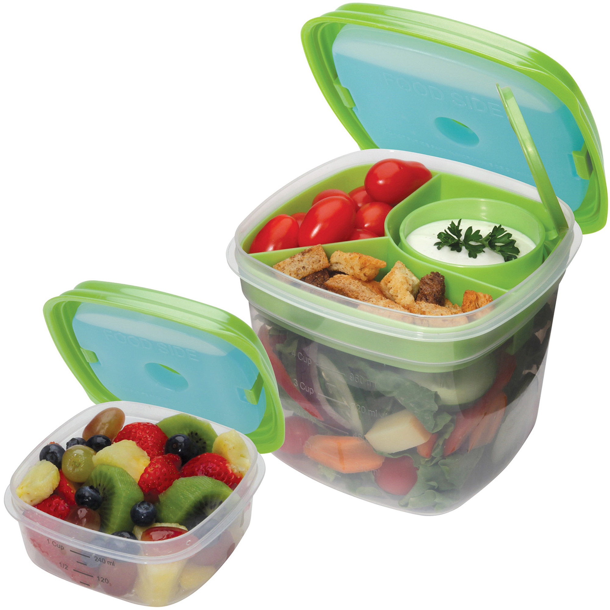 Fit and Fresh Fresh Selects Salad and Side Value Set