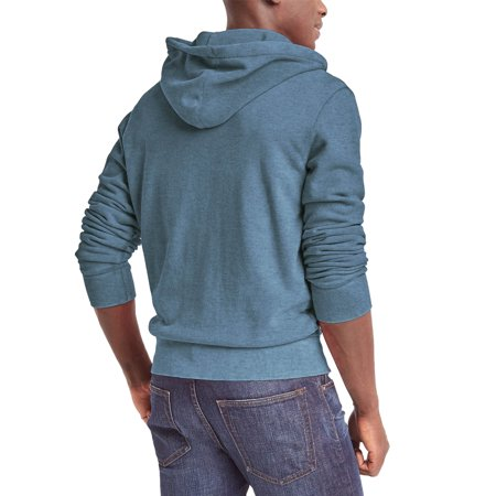 Mens Heavy Zip Up Hoodie Premium Sweatshirt Long Sleeve Jacket