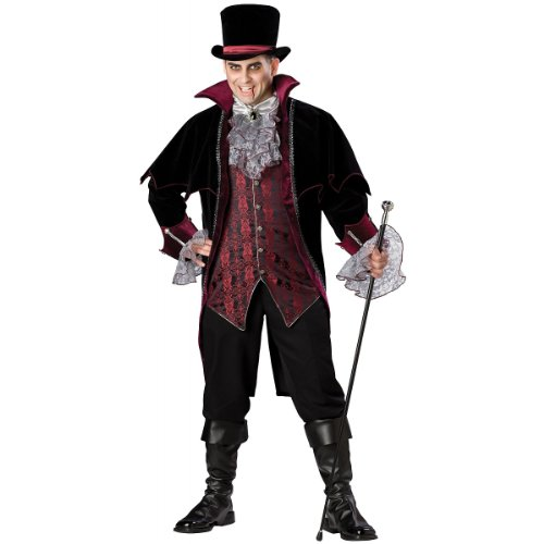 Vampire of Versailles Adult Halloween Costume - One Size