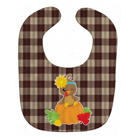 Carolines Treasures BB7113BIB Thanksgiving Baby Turkey Baby Bib - image 1 of 1