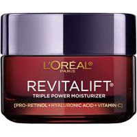 L'Oreal Paris Triple Power Anti-Aging Face Moisturizer, Revitalift, 1.7 oz.