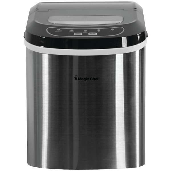 Magic Chef 27LB ICE MAKER STAINLESS