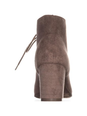 e8e31ae60 madden girl Torch Lace-Up Ankle Boots, Dark Taupe