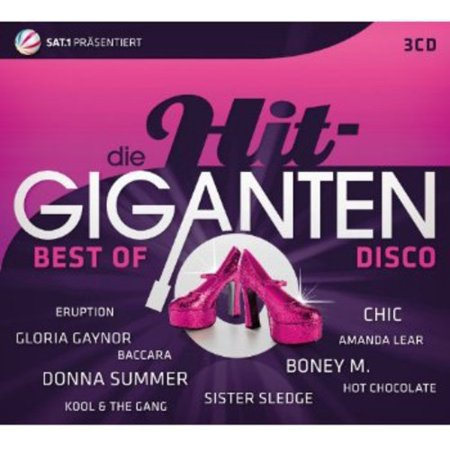 Die Hit Giganten-Best Disco (CD)