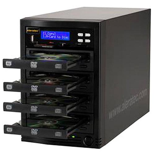 Aleratec DVD/CD Flash Copy Tower - Flash Copier, 1:3 DVD/CD Duplicator