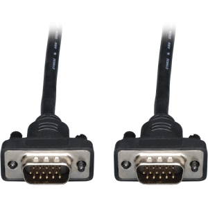 Tripp Lite 25ft Low-Profile VGA Coax High Resolution Monitor Cable (HD15 M/M)