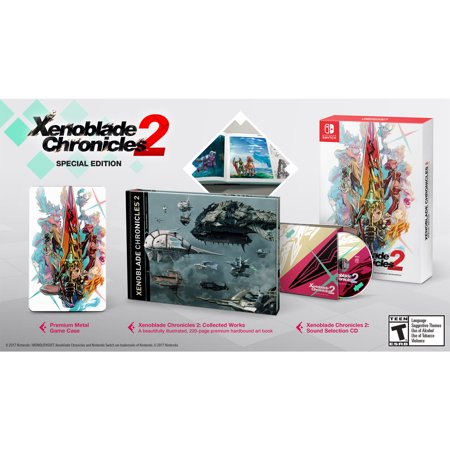 Xenoblade Chronicles 2 Special Edition, Nintendo, Nintendo Switch, (Xenoblade Chronicles X Best Division)