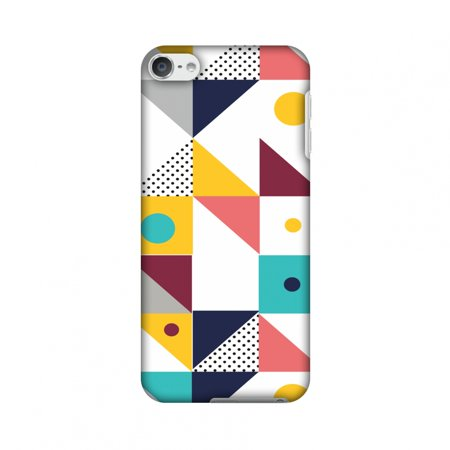 iPod Touch 6th Gen Case - Chevron Chic 2, Hard Plastic Back Cover, Slim Profile Cute Printed Designer Snap on Case with Screen Cleaning