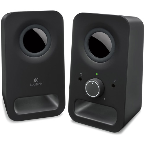 Logitech Z150 Multimedia 2.0 Speakers, Black