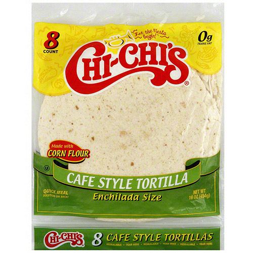 Chi-Chi's Cafe Style Tortilla, 8ct (Pack of 12)