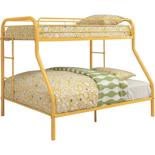 World of Color Twin/Full Bunk Bed in Purple Finish