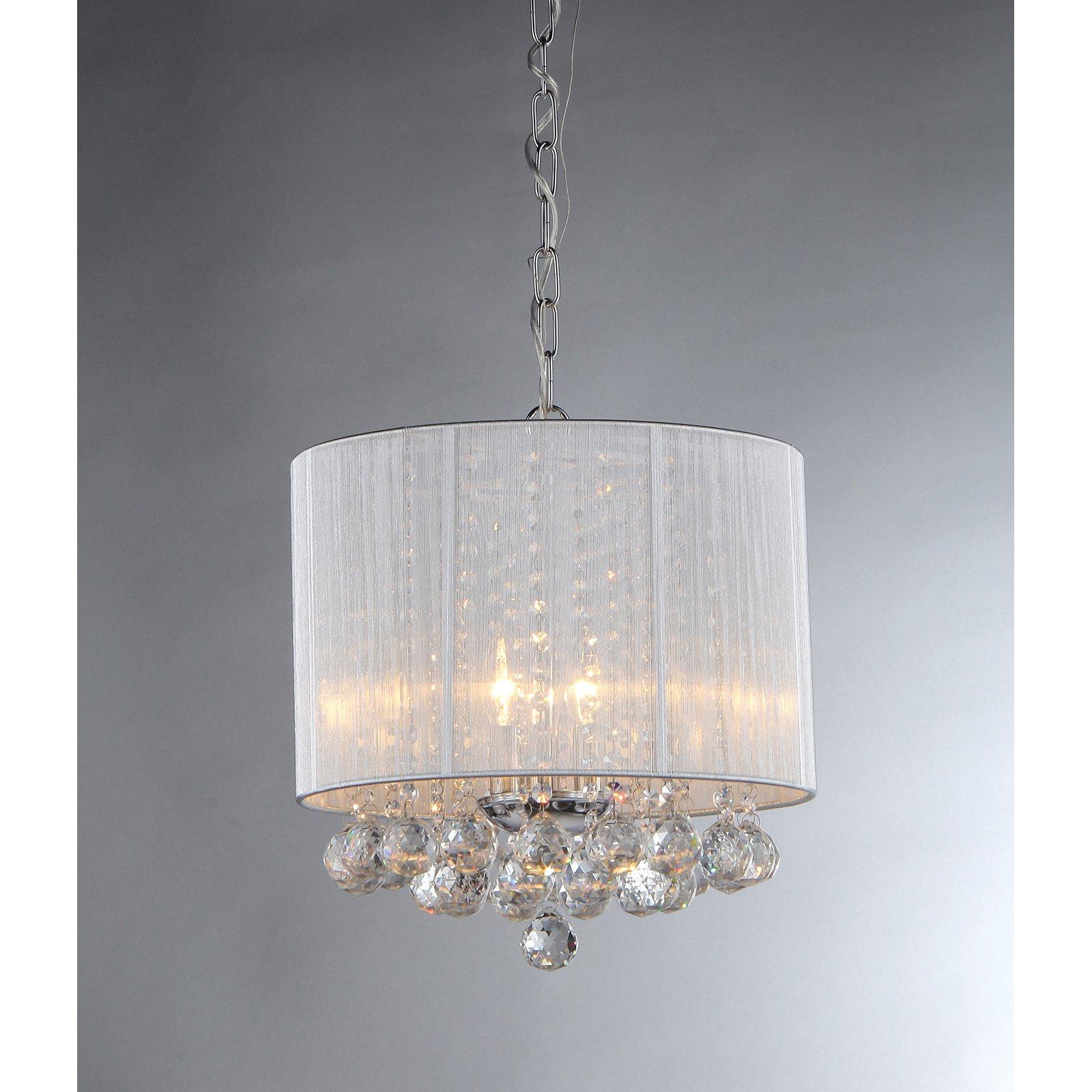 Warehouse of Tiffany Pinkys Platter RL1138 Crystal Pendant Light