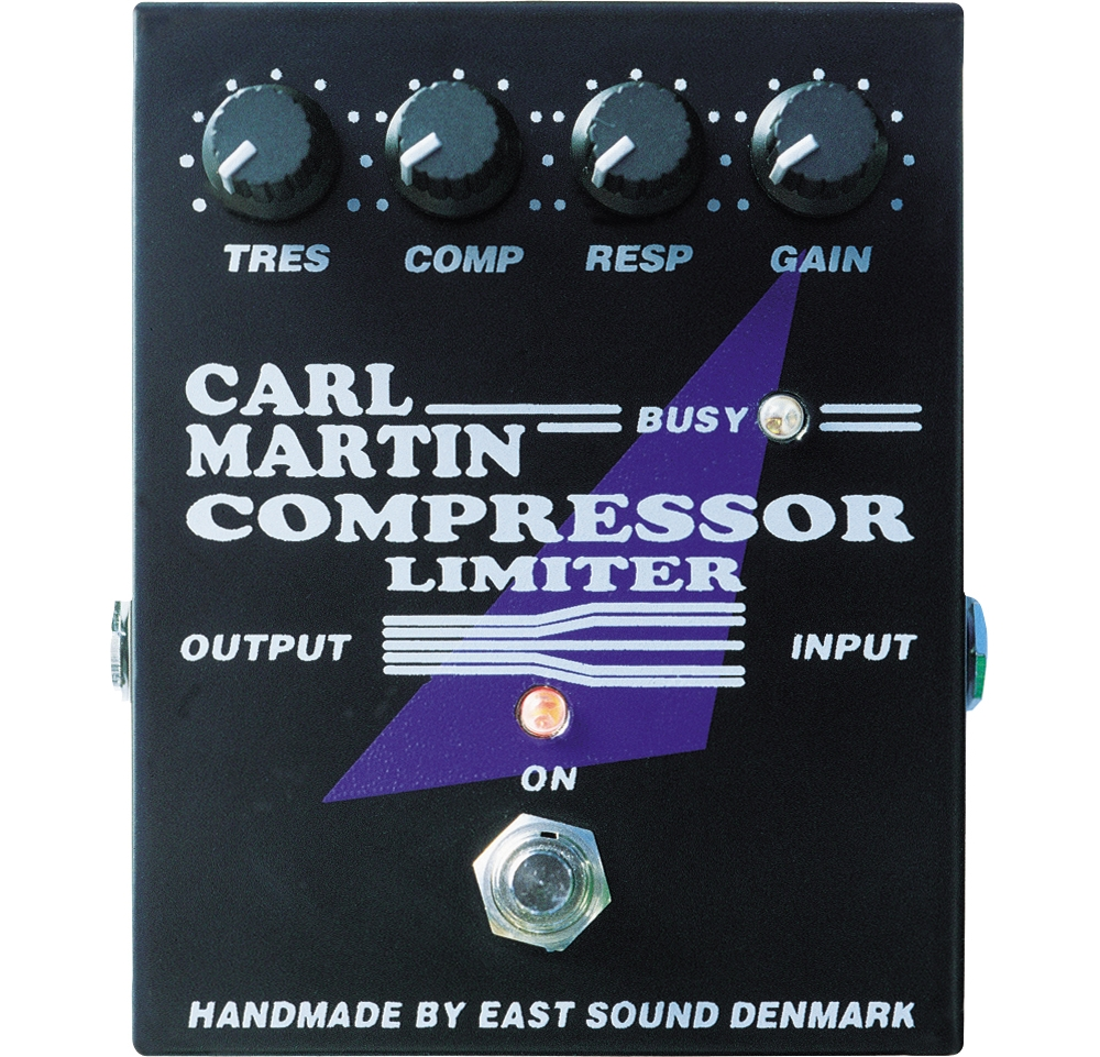 Carl Martin Compressor Limiter Pedal by Carl Martin